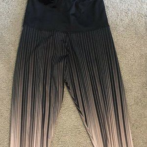 Onzie x Pure Barre Ombre Leggings Size S/M